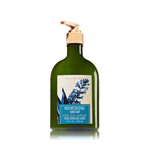 Nước Rửa Tay Bath & Body Works Hand Soap 259ml Fresh Sparkling Snow