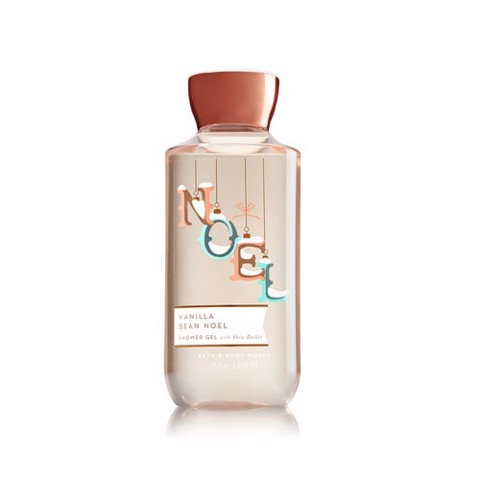Sữa Tắm Bath & Body Works 295ml Vanilla Bean Noel