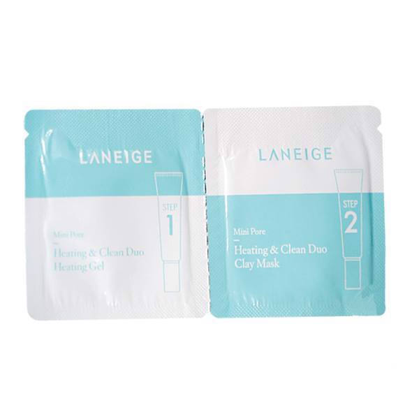 Laneige Mini Pore Heating & Clean Duo Sample