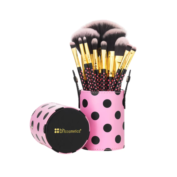 Bộ cọ BH Cosmetics Pink A Dot Brush Set