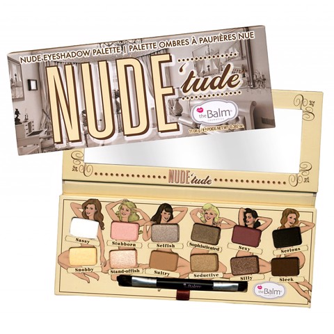 Bảng Phấn Mắt The Balm Nude Tude Eyeshadow