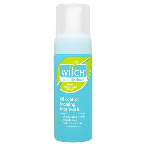 Sữa rửa mặt ‪Witch‬ Naturally Clear Oil Control Foaming Face Wash 150ml
