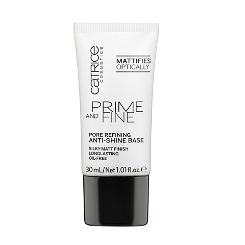 Kem Lót Catrice Prime and Fine Pore Refining Anti-Shine Base 30ml