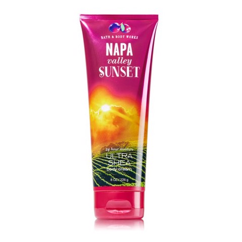 Kem dưỡng toàn thân Body Cream Bath and Body Works 226g Napa Valley Sunset