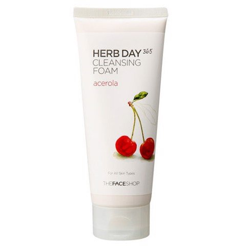 Sữa Rửa Mặt The Face Shop Herb Day 365 Cleansing Foam 170ml