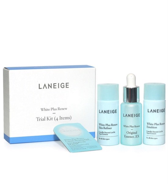 Kit dưỡng da Laneige White Plus Renew Trial Kit (4 Items)