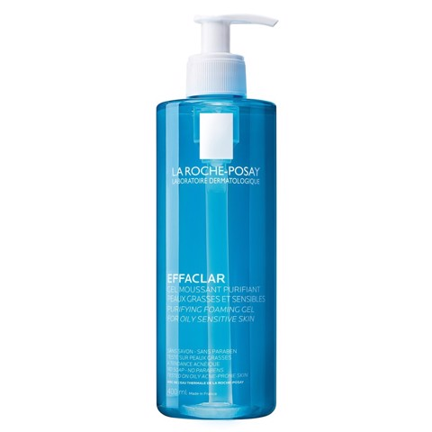 La Roche Posay Effaclar Purifying Foaming Gel For Oily Sensitive Skin 400ml