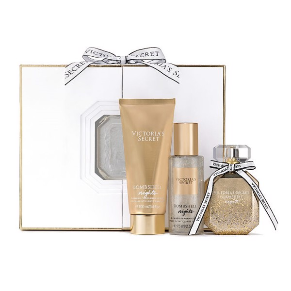 Set Quà Tặng Victoria's Secret Bombshell Night Signature Gift Set