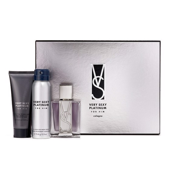 Set Quà Tặng Victoria Secret 3 Món (K) - Very Sexy Platinum For Him