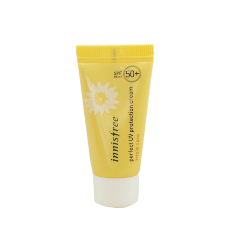 Kem Chống Nắng Chống Trôi Innisfree Perfect UV Protection Cream Triple Care SPF50 PA+++ 20ml