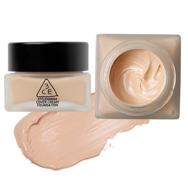 3CE Cover Cream Foudation - Light Vanilla