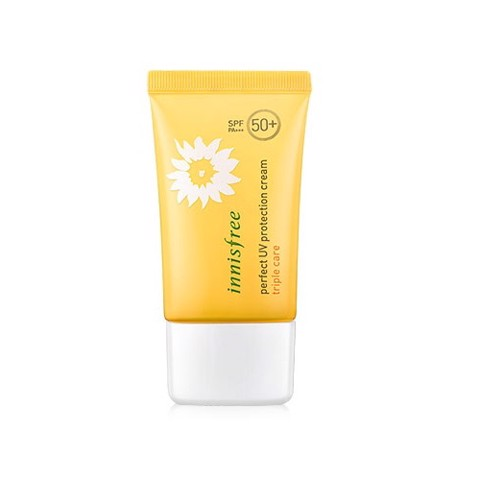 Kem chống nắng Innisfree Perfect UV Protection Cream Triple Care SPF50+