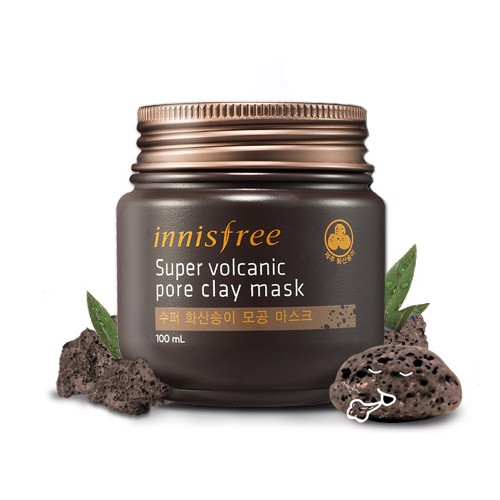 Mặt Nạ Đất Sét Innisfree Super Volcanic Pore Clay Mask 100ml