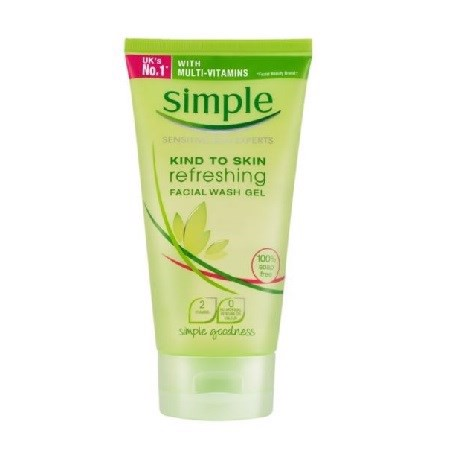 Sữa Rửa Mặt Simple Kind To Skin Facial Wash Gel 50ml