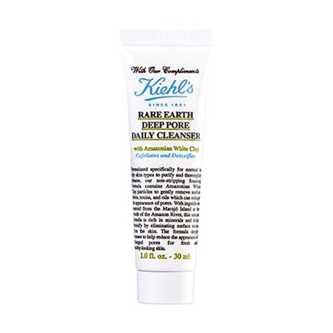Sữa rửa mặt Kiehl's Rare Earth Deep Pore Daily Cleanser 30ml