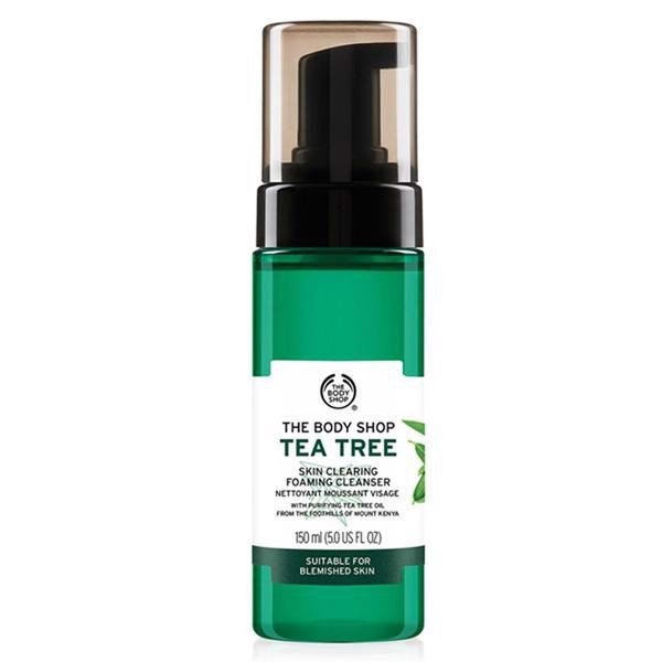 Sữa Rửa Mặt Tràm Trà The Body Shop Tea Tree Skin Clearing Foaming Cleanser 150ml