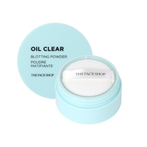 Phấn Bột Kiềm Dầu The Face Shop Oil Clear Blooting Powder