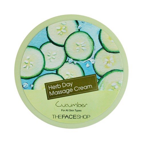 Kem Massage The Face Shop Herb Day Massage Cream