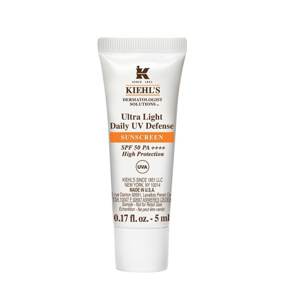 Kem chống nắng Kiehl's Ultra Light Daily UV Defense SPF 50 5ml
