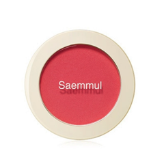 Phấn Má Hồng The Saem Single Blusher PK01