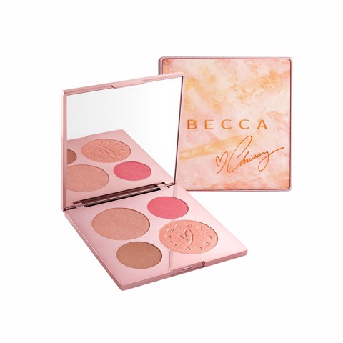 Bảng highlight Becca x Chrissy Teigen Glow Face Palette