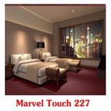 Tham len mau do sam marvel touch 227