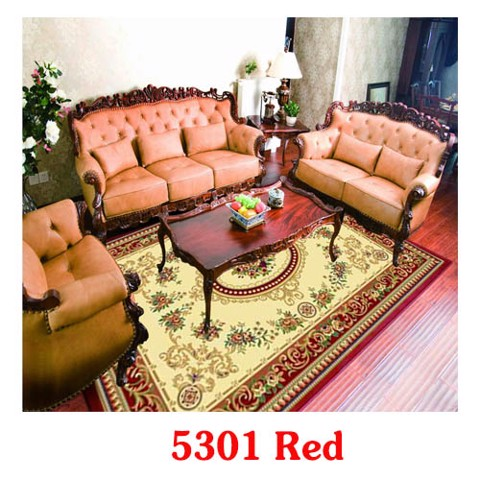tham salon mau do do 5301 Red