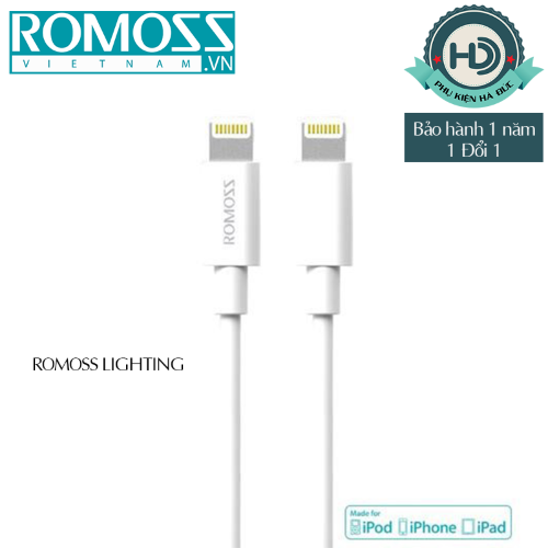 Cáp Sạc Romoss Lighting