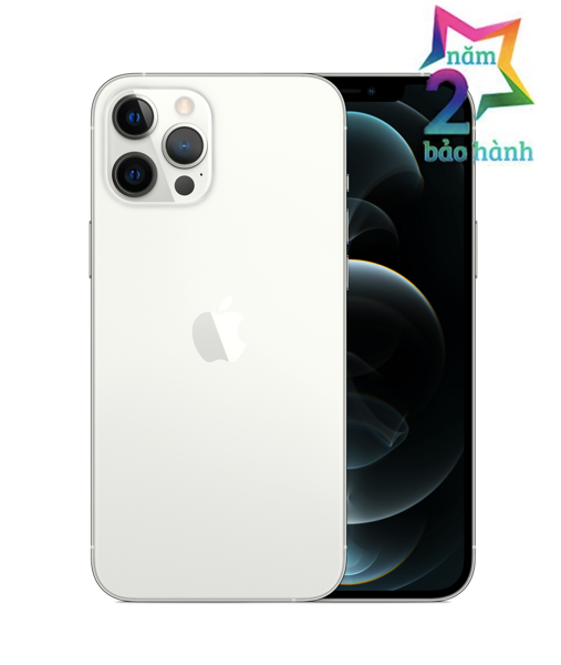 Apple iPhone 12 Pro Max 128GB Silver Có Sẵn-BH 2 Năm