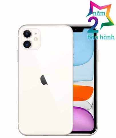Iphone 11 256GB White  Xách Tay Mỹ- BH Elite & More