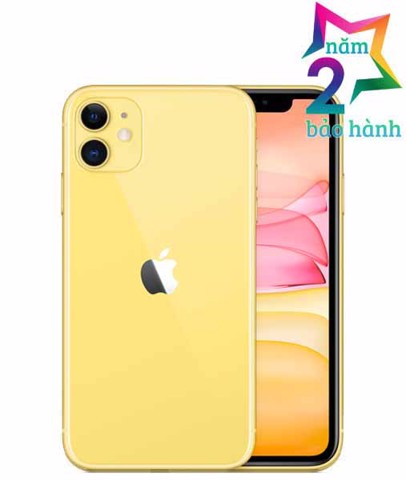 Iphone 11 128GB Yellow  Xách Tay Mỹ- BH 2 Năm- BH Elite & More