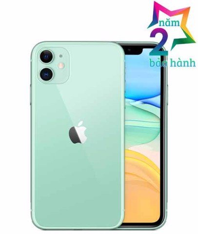 Iphone 11 256GB Green  Xách Tay Mỹ- BH Elite & More