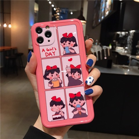 Ốp Lưng Silicone Chống Sốc Couple A Girl's Day Cho iPhone 11 Pro Max