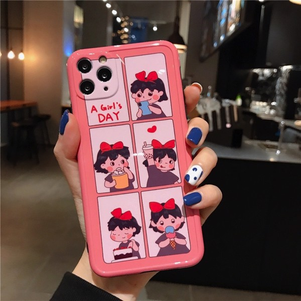 Ốp Lưng Silicone Chống Sốc Couple A Girl's Day Cho iPhone 11