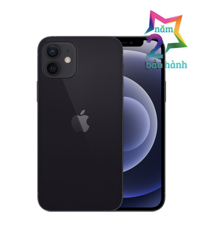 Apple iPhone 12 128GB Black Có Sẵn-BH 2 Năm