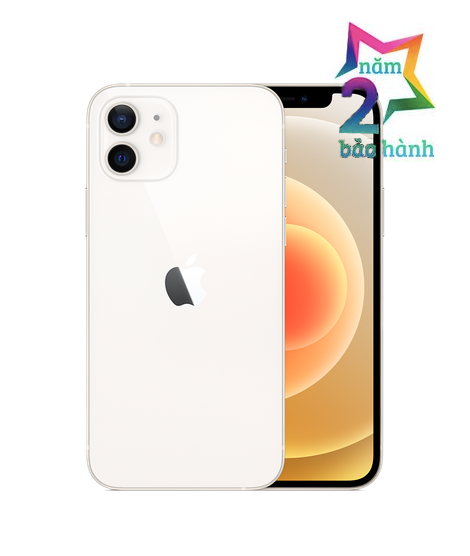 Apple iPhone 12 64GB White Có Sẵn-BH 2 Năm