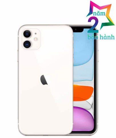 Apple Apple Iphone 11 64GB White - BH 2 Năm - BH Elite & More