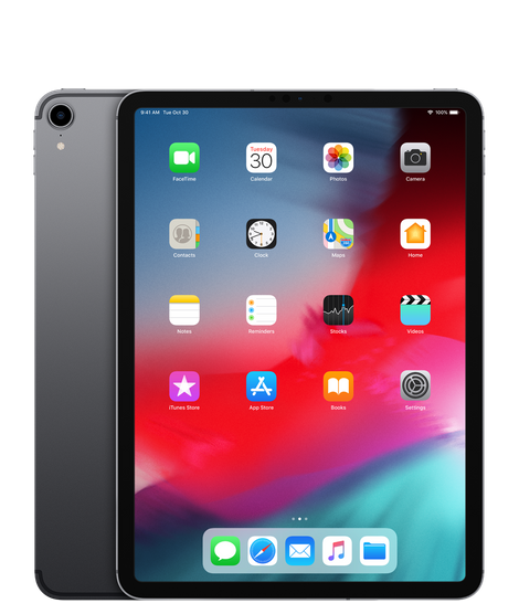 iPad Pro 2018 bản 11 inch 256GB Wifi Gray Active T04