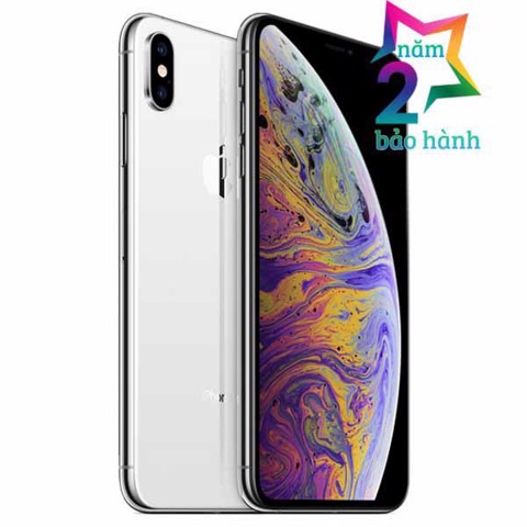 Apple iPhone XS Max 64GB Silver- BH 2 Năm - BH Elite & More