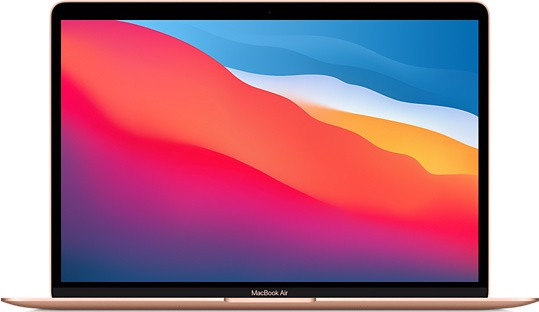 Macbook Air 2021 13 inch ( Chip M1/ 8GB/ 512GB ) Gold
