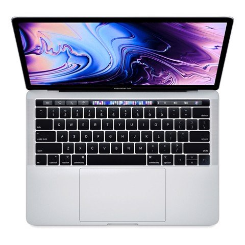 MacBook Pro 13 inch 1.4gbz 256gb 2019 Silver MUHR2 Xách Tay Mỹ (touch bar)