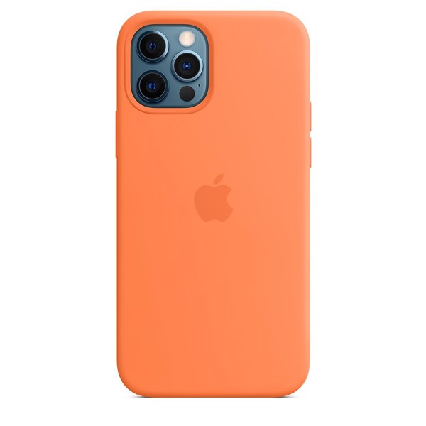 Ốp Silicone Case with MagSafe Iphone 12 Pro Max - Kumquat