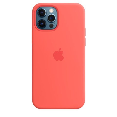 Ốp Silicone Case with MagSafe Iphone 12 Pro Max- Pink Citrus