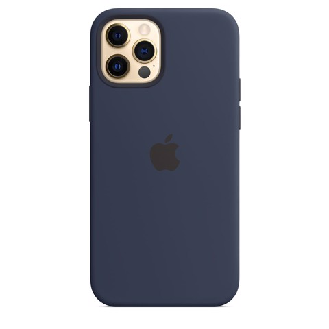 Ốp Silicone Case with MagSafe Iphone 12 Pro - Deep Navy