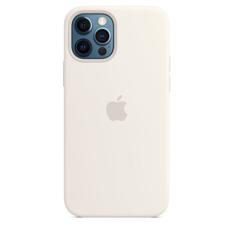 Ốp Silicone Case with MagSafe Iphone 12 Pro - White