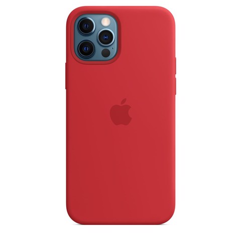 Ốp Silicone Case with MagSafe Iphone 12 Pro Max- (PRODUCT)RED