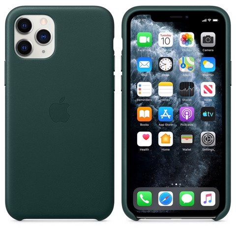 Ốp Leather Chính Hãng Apple Forest cho IPhone 11 Pro