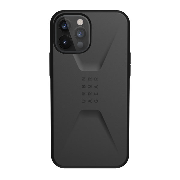 Ốp Lưng UAG Civilian Black Cho iPhone 12 Pro/ IP 12