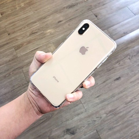 Ốp Lưng Silicone Trong Suốt Mỏng Mịn Wk Cho iPhone X/Xs