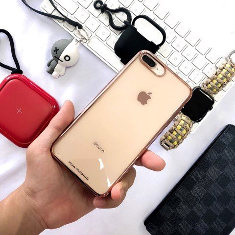 Ốp lưng iPhone 7/8 Plus Viva METALICO FLEX